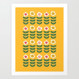 Pyrex Flowers Art Print
