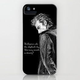 How Many Seconds in Eternity? iPhone Case