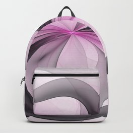 Abstract Art Fractal With Pink Backpack