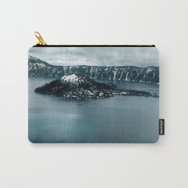 Mountain Lake View Carry-All Pouch