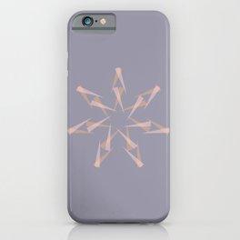 Pastel XMas Design I iPhone Case