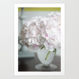 Pink, Grey and Lime Art Print