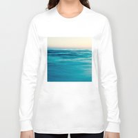 blues Long Sleeve T-shirts featuring blues by Bonnie Jakobsen-Martin