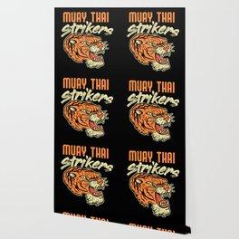 Muay Thai Strikers Tiger Kickboxing MMA Material Arts Judo Karate Gift Wallpaper