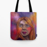 lost in translation Tote Bags featuring Lost in Translation by alessia deletia colognesi