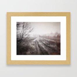 On the contryside Framed Art Print
