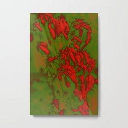 Barbed Abstract III Metal Print