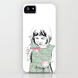 BubbleGirl iPhone Case