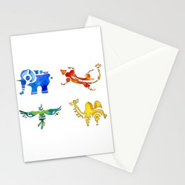 Zelda Breath of The Wild Watercolor Painting Stationery Cards