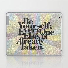 Be Yourself Laptop & iPad Skin