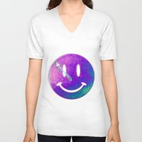 watchmen V-neck T-shirts featuring Watchmen by Beastie Toyz