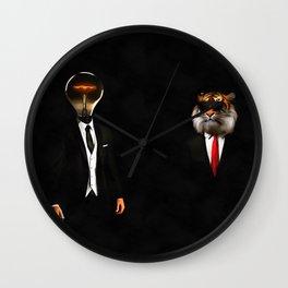 Clueless Humans Wall Clock