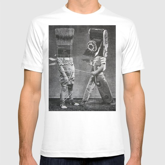 Photography vs. Painting T-shirt