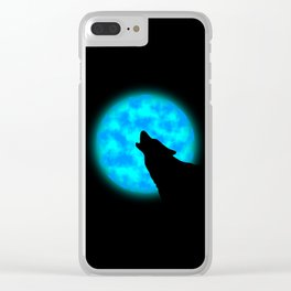 Howlin' Clear iPhone Case