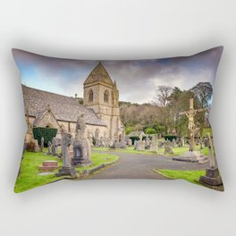 Church at Pantasaph Rectangular Pillow