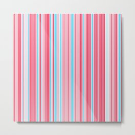 Stripe obsession color mode #5 Metal Print
