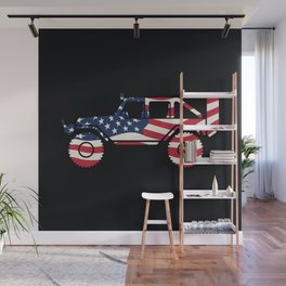 American Patriotic Off Road 4x4 Wall Mural