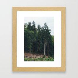 Combien de temps pour t'oublier? IV Framed Art Print