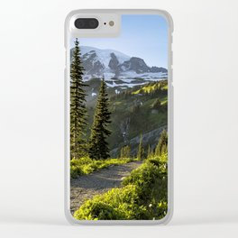 A Hike to Remember Clear iPhone Case