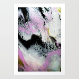 Pinky placemats Art Print