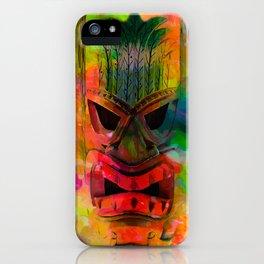 Tiki Kara iPhone Case
