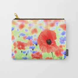 poppies art 004 Carry-All Pouch