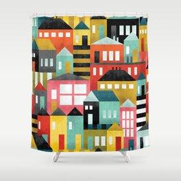 Bau Hauses Shower Curtain