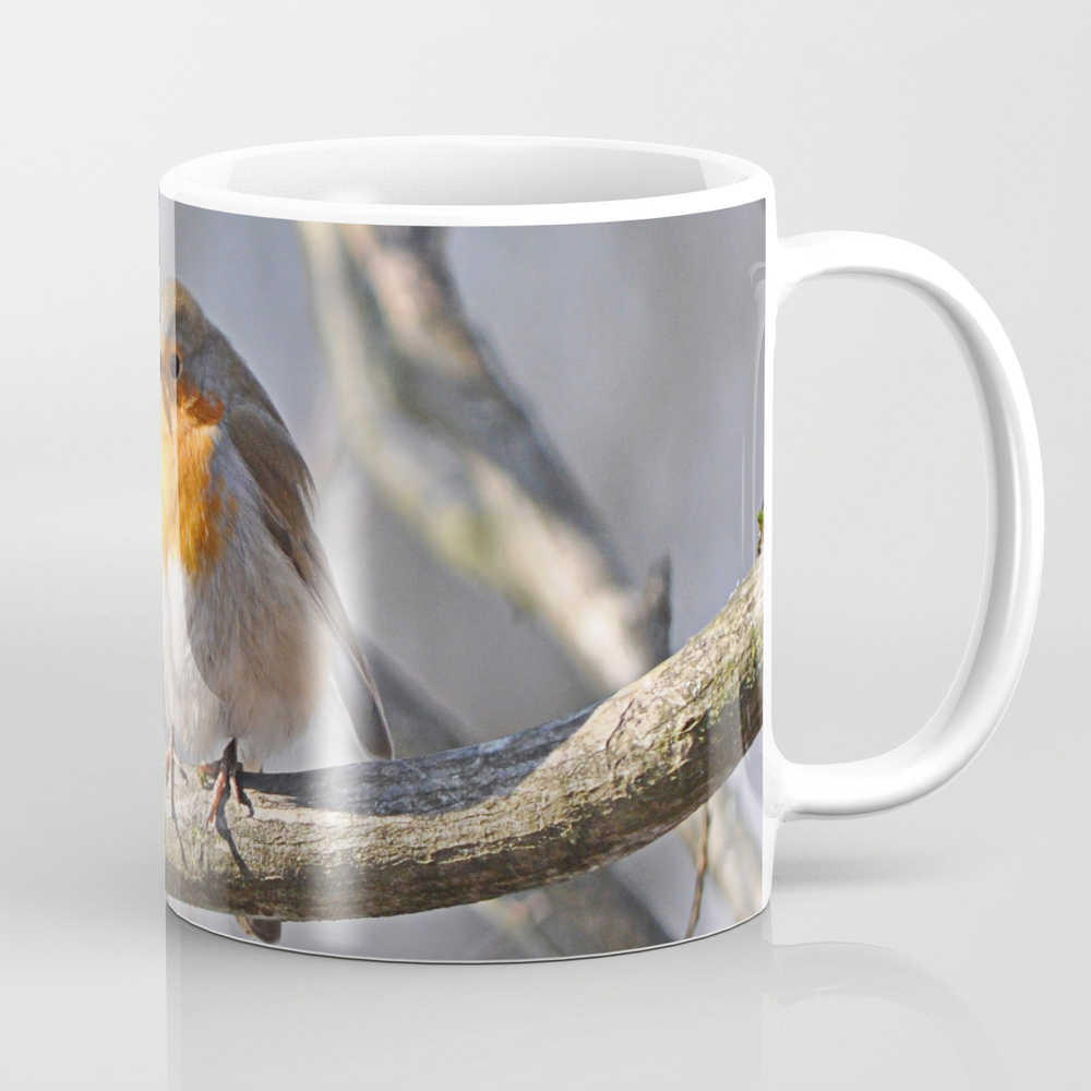 Robin Redbreast Mug by Pirminnohr (MUG915575) photo
