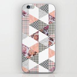 Pink Patterns iPhone Skin