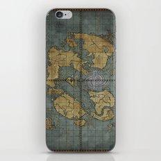 Seimeramus Map iPhone & iPod Skin