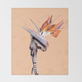 Pollinator Throw Blanket