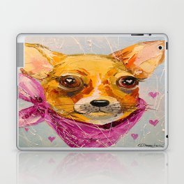 In love with friend Laptop & iPad Skin