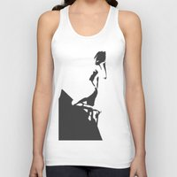 popart Tank Tops featuring PopArt Halftone by C R Clifton Art