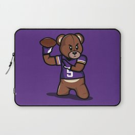 The Victrs - Teddy Football Laptop Sleeve