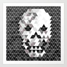The SKULL Art Print