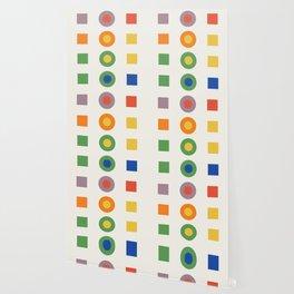 Chevreul Laws of Contrast of Colour, Plate VI, 1860, Remake Wallpaper