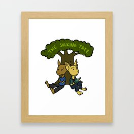The Sulking Tree Framed Art Print