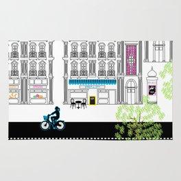 Boulevard Haussmann Rug