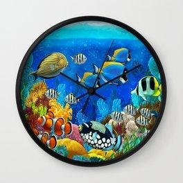 Heart of the Atlantic into Aquarium Wall Clock