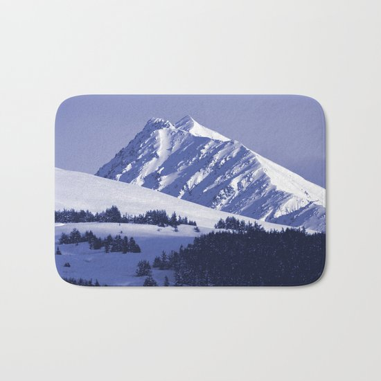 Back-Country Skiing - 8 Bath Mat
