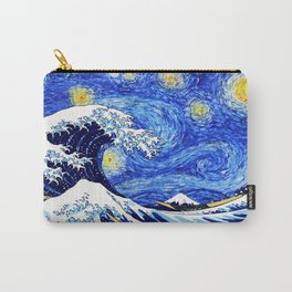 The Wave Starry Night Carry-All Pouch