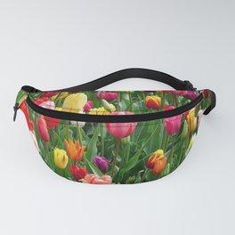 Tulip Field Fanny Pack