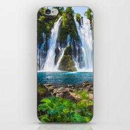 Burney Falls Delight iPhone Skin