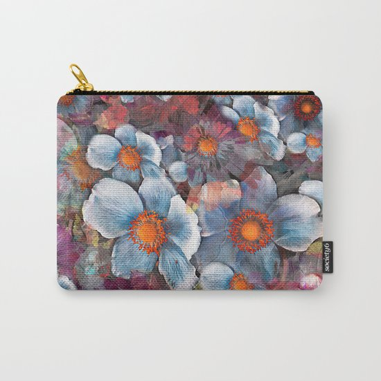 Flower carpet(53). Carry-All Pouch