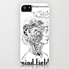 Mind Field –Sir Real iPhone Case