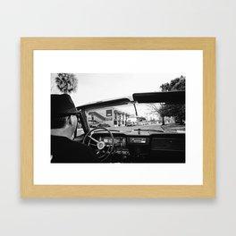 RETRO ON IVANHOE Framed Art Print