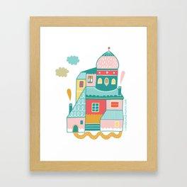 House Goals Framed Art Print