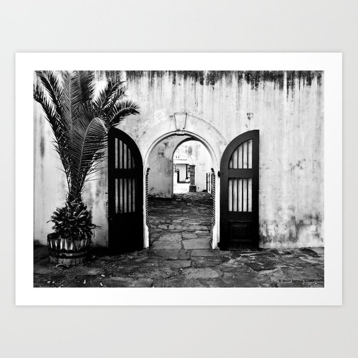 """Welcome to the Castle of Good Hope"" Art Print"