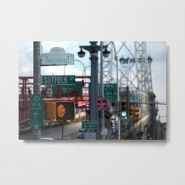 Bargain District Metal Print