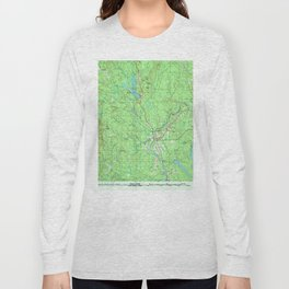 ME Presque Isle 808185 1994 topographic map Long Sleeve T-shirt
